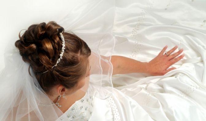 geplatzte Hochzeit (Foto)