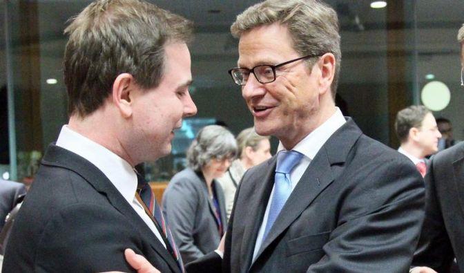 Gereizte Stimmung vor EU-Gipfel (Foto)