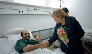 Germany Afghanistan Merkel (Foto)
