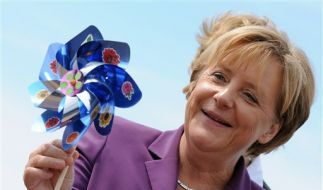 Germany Merkel Energy Tour (Foto)