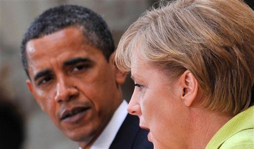 Germany Obama Visit (Foto)