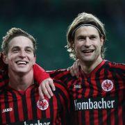 Geschlossene Eintracht: Frankfurts junge Kicker stürmten in der Hinrunde auf Platz vier.