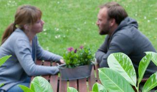 Geschützt durch Blätter und Blüten - Sichtbarriere für den Garten (Foto)