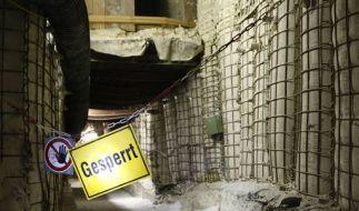 «Gesperrt»: Die Schachtanalge Asse bei Wolfenbüttel soll vollständig geräumt werden. (Foto)