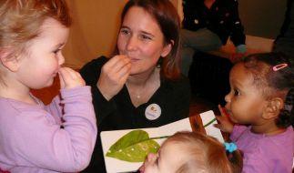 Gesten statt Geschrei - Gebärdensprache für Babys (Foto)