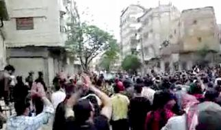 Gewalt und Massenverhaftungen in Syrien (Foto)