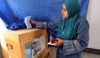 Gewalt und Schikane bei Parlamentswahl in Ägypten (Foto)