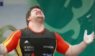 Gewichtheben: Olympiasieger Steiner nur Zuschauer (Foto)