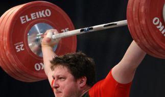 Gewichtheber Steiner stark: Comeback mit EM-Silber (Foto)