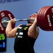 Gewichtheber Velagic: Erst Zwillinge, dann Bronze (Foto)