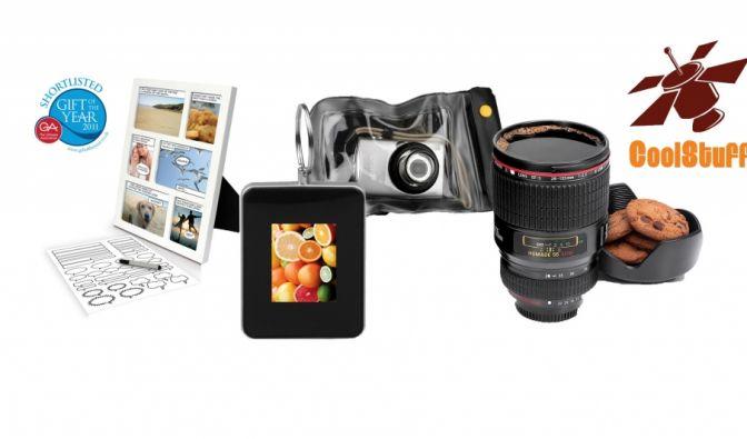 Gewinnen Sie mit news.de und coolstuff.de eines von drei nützlichen Foto-Gadget-Paketen. (Foto)