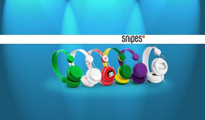 Gewinnen Sie mit news.de und Snipes einen von zehn stylischen Kopfhörern. (Foto)