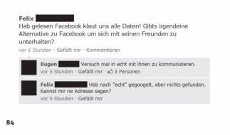 Gibt es eine Alternative zu Facebook? (Foto)