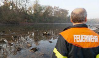 Giftfass bei Bendorf im Rhein wird gesprengt (Foto)