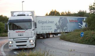 Gigaliner-Riesenlastwagen (Foto)