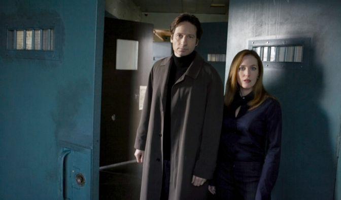 Gillian Anderson und David Duchovny im Akte-X-Film