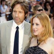Das Akte-X-Traumpaar ließ sich nicht trennen: Gillian Anderson und David Duchovny