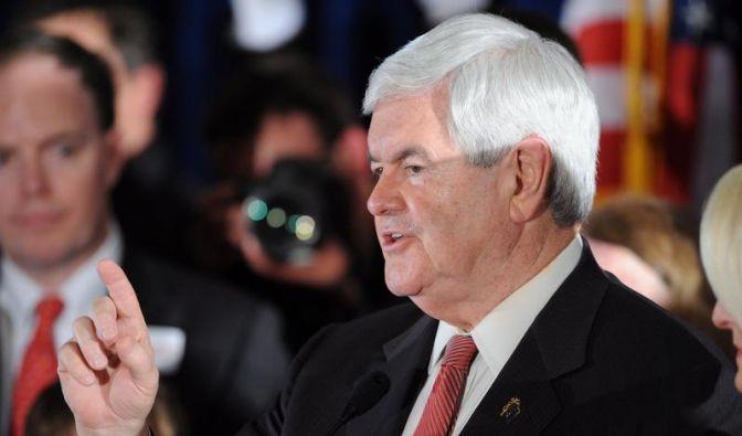 Gingrich gewinnt Vorwahl in South Carolina (Foto)