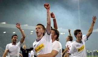 Gladbach bleibt in der Bundesliga (Foto)