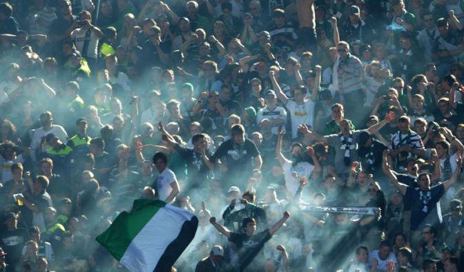 Gladbach gegen Bochum mit 54 057 Fans ausverkauft (Foto)