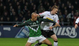 Gladbach rettet einen Punkt: 1:1 in Bremen (Foto)