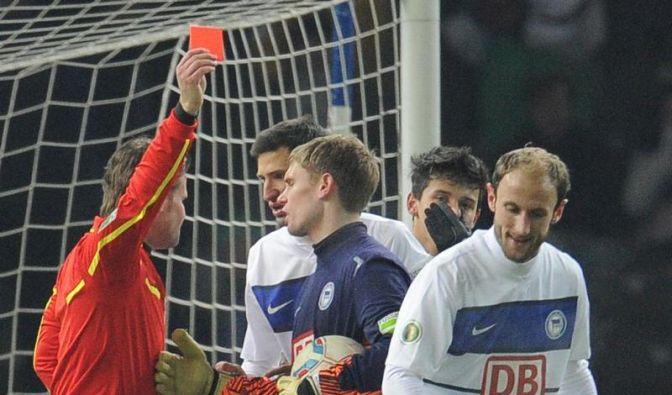 Gladbacher schmeißen Hertha aus dem Pokal (Foto)