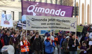 Gläubigerausschuss beschäftigt sich mit Qimonda (Foto)