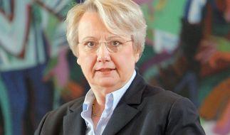 Glaubt an die Lösungsansätze im Bildungsproblem: Annette Schavan. (Foto)