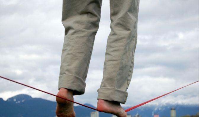 Gleichgewicht (Foto)