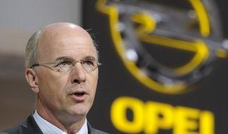 GM-Europa-Chef Forster rechnet damit, dass Opel 3500 Stellen abbauen muss. (Foto)