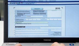 Gnadenfrist für Steuererklärung (Foto)