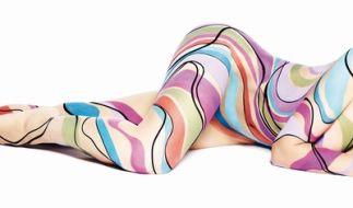 GNTM-Jurorin Heidi Klum posiert nackt für Werbeaufnahmen der Marke Astor. (Foto)