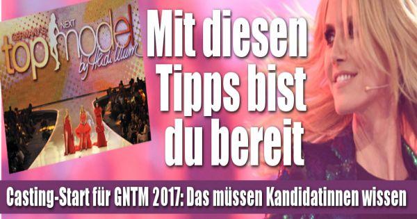 germanys next topmodel 2017 casting start bereit fr heidi klum tipps fr das perfekte model casting - Germanys Next Topmodel Bewerbung