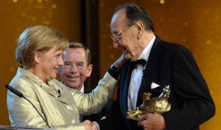 Goldene Henne für Hans-Dietrich Genscher (Foto)