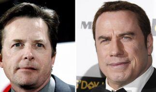 Goldene Kamera mit Michael J. Fox und Travolta (Foto)