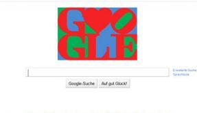 Googel Doodle Valentinstag (Foto)