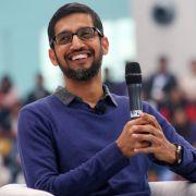Google-Chef Sundar Pichai präsentierte am 18. Mai 2016 die Keynote bei der Google I/O 2016 im Live-Stream. (Foto)