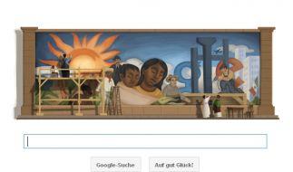 Google Doodle für Diego Rivera (Foto)