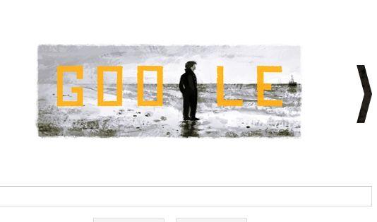 Google Doodle für François Truffaut (Foto)