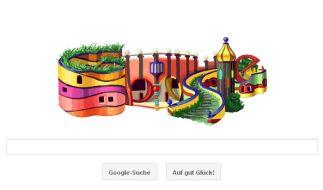 Google Doodle für Friedensreich Hundertwasser  (Foto)