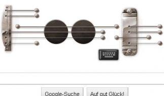 Google Doodle für Les Paul (Foto)