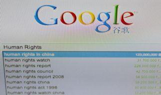 Google droht mit Rückzug aus China (Foto)