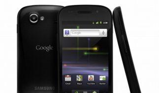Google-Smartphone Nexus S  (Foto)