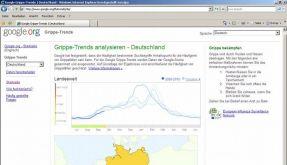 Google startet in Deutschland Grippe-Frühwarnsystem. (Foto)