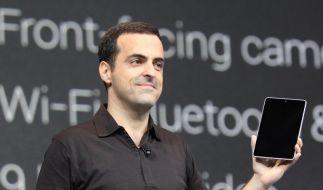 Google tritt mit eigenem Tablet gegen Amazon und Apple an (Foto)