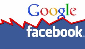 Google vs. Facebook (Foto)