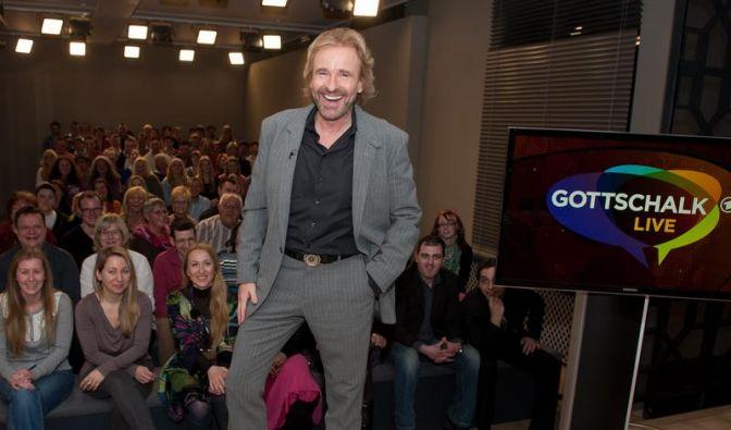 Gottschalk blickt dem Publikum ins Auge (Foto)