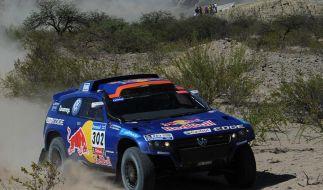Gottschalk und Al-Attiyah bei Rallye Dakar vorn (Foto)
