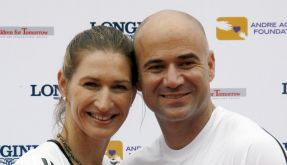 Graf und Agassi: Kinder nicht tennisbegeistert (Foto)