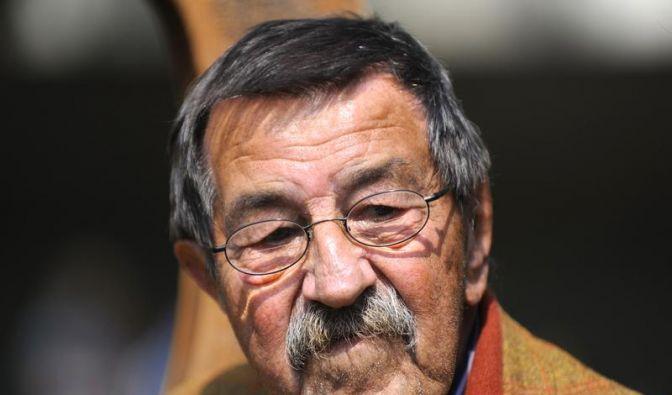 Grass sagt Rede aus gesundheitlichen Gründen ab (Foto)